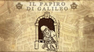 Il Papiro di Galileo caccia al tesoro