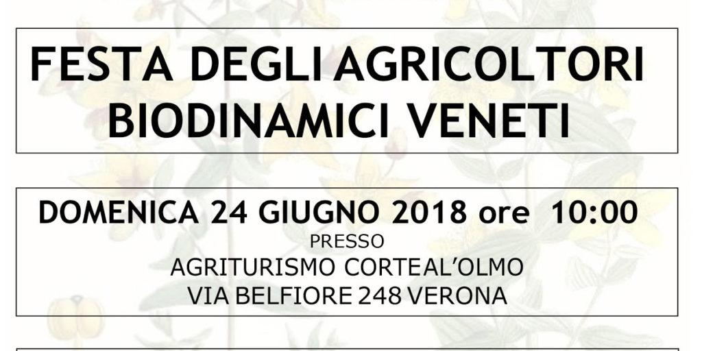 FESTA DEGLI AGRICOLTORI BIODINAMICI VENETI: GIORNATA DI SCAMBIO PER PARLARE DI AGRICOLTURA BIODINAMICA VENETA