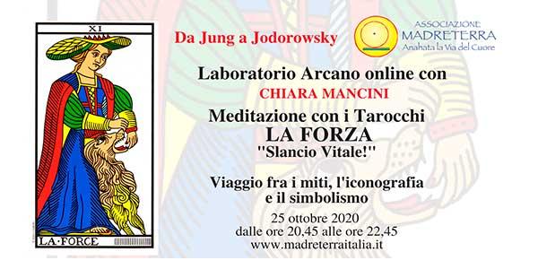 Laboratorio Arcanoonline  Da Jung a Jodorowsky  con  Chiara Mancini