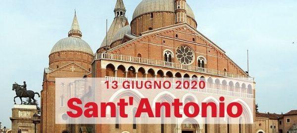 sant'Antonio 13 giugno 2020